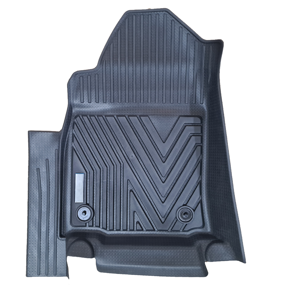 Tailor Made 4D Rubber Mats for Toyota Hilux 2015+