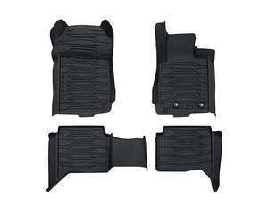 Genuine OEM Ford Ranger T6 3D Rubber Floor Mats Double Cab 2019+ PX3