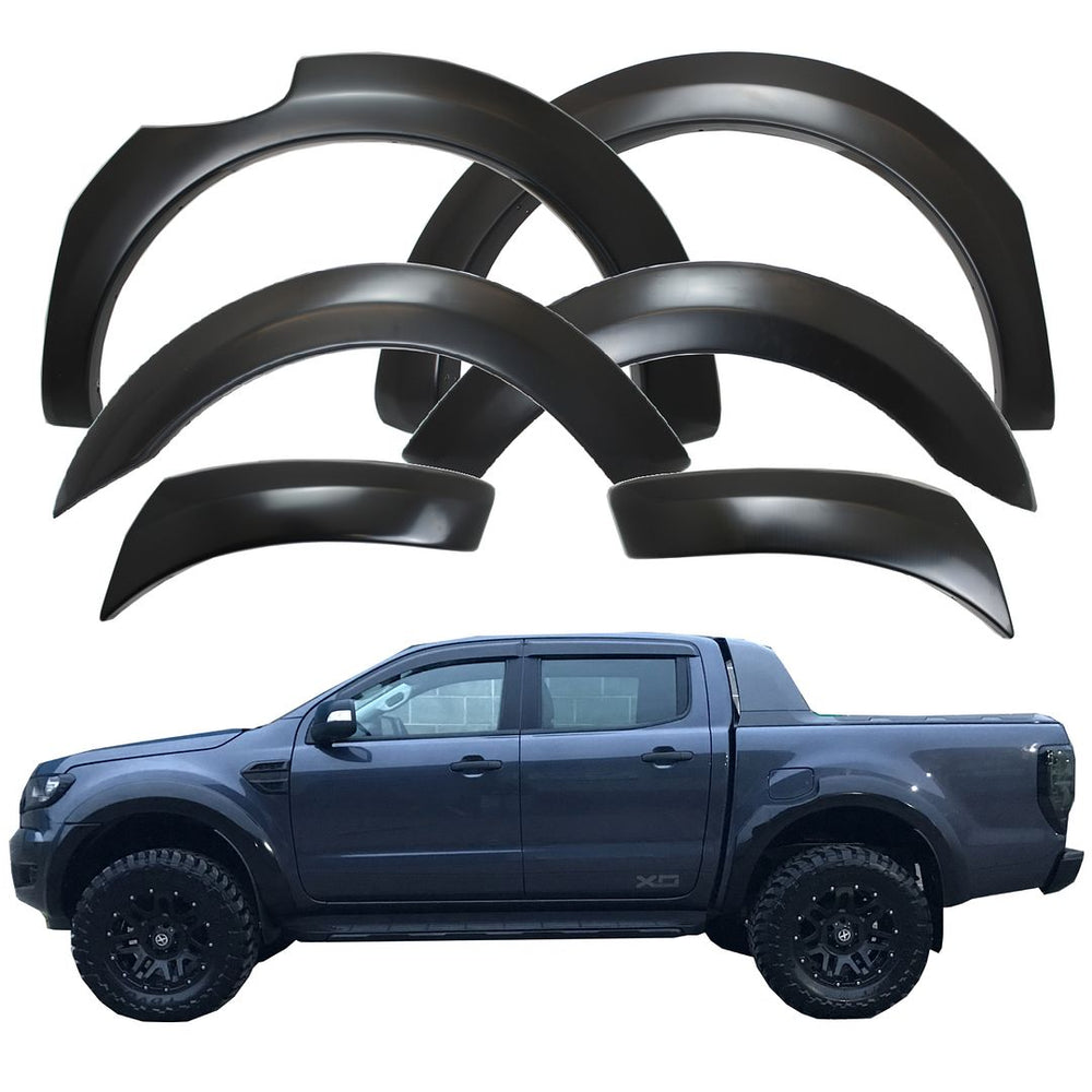 Load image into Gallery viewer, MATTE BLACK XO Slim Arch Kit for Ford Ranger T6 Raptor 2016+
