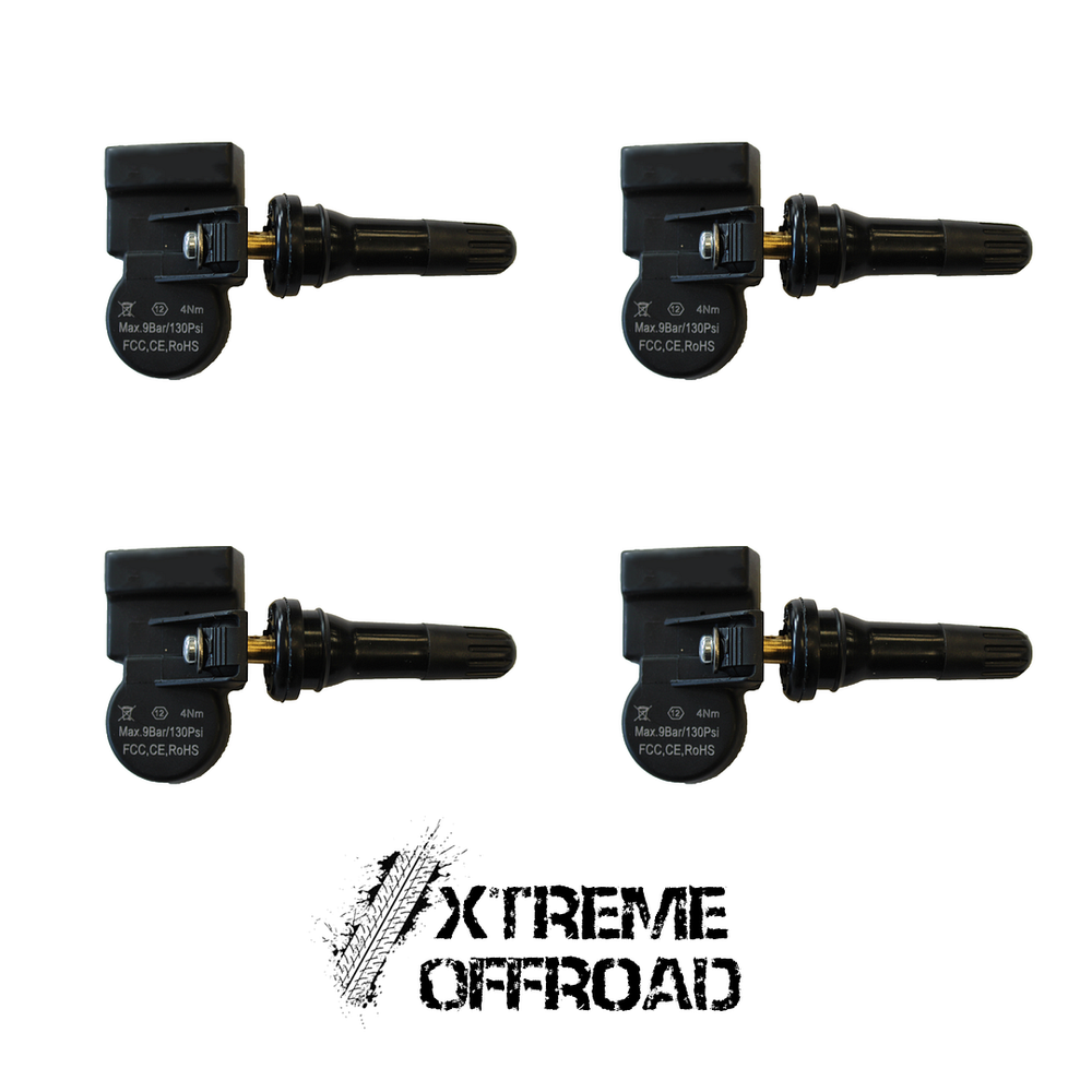 Set of 4 x TPMS Tyre Pressure Valve Sensors For All Range Rover Vehicles