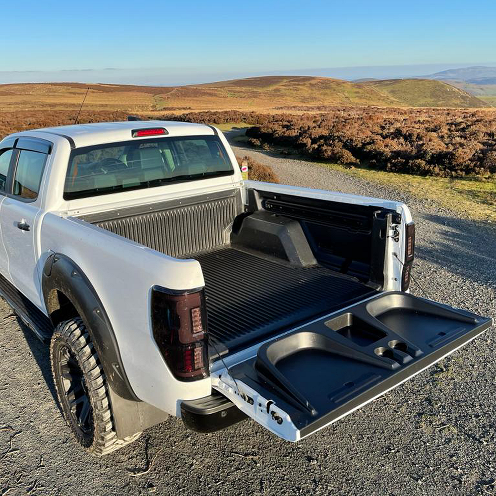 Tailgate Seat with Cup Holders for Ford Ranger T6 2019+ PX3