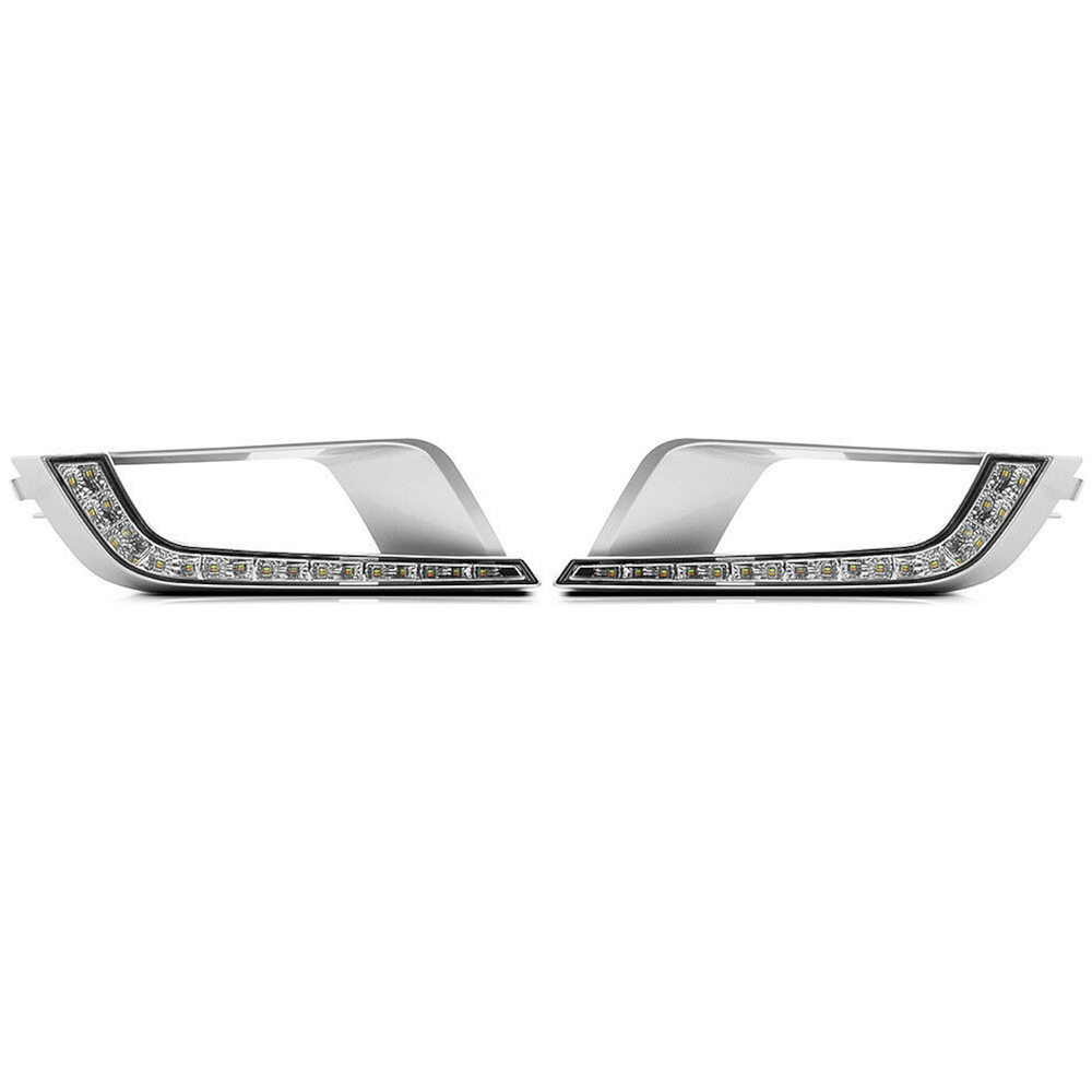 Front Fog LED DRL's for Ford Ranger Wildtrak T6 2016-2019