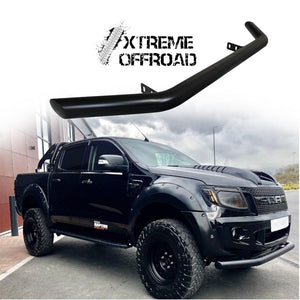 Load image into Gallery viewer, Matte Black Lower Nudge Bar / City Bar / Chin Bar for Ford Ranger T6 2012-2015