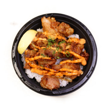 Spicy Karaage Chicken Don