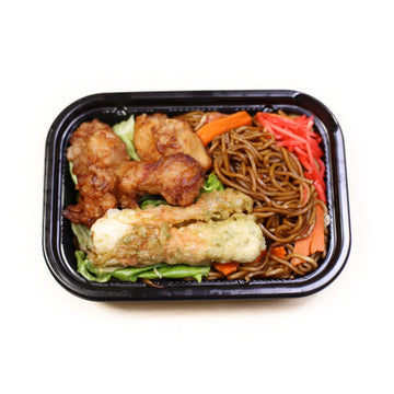Yakisoba With Chicken Karaage