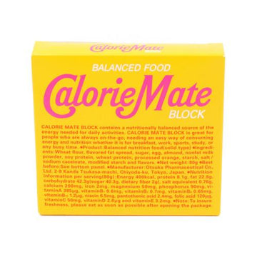 Calorie Mate Block Maple 80G