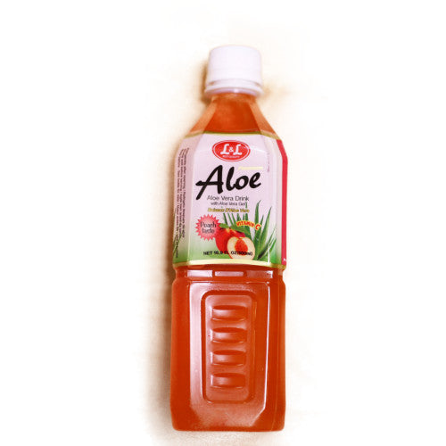 Peach Aloe Vera Drink 500Ml Ll