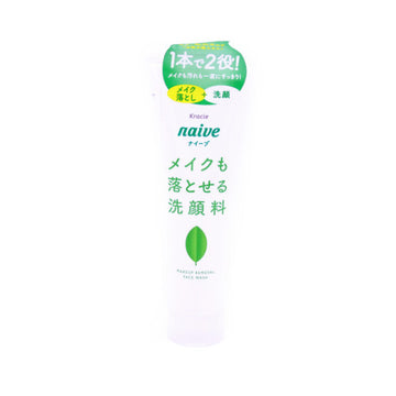 Naive Makeup Cleansing Foam Green Tea 7.1Oz(200G