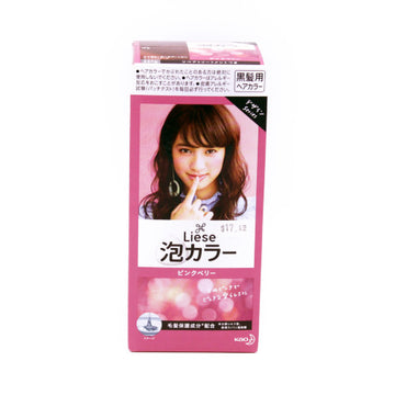 Prettia Bubble Color Pink Berry 3.4Floz+0.3Oz Ka