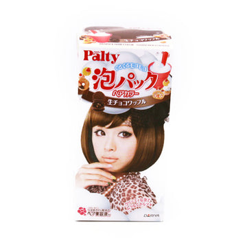 Palty Bubble Pack Hair Color Chocolate Waffle 2.