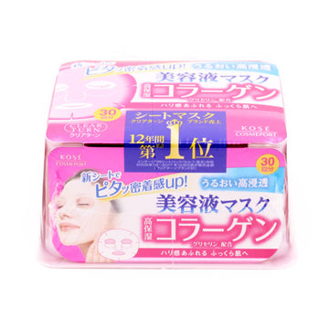 Clear Turn Essence Facial Mask Collagen 0.4Floz(