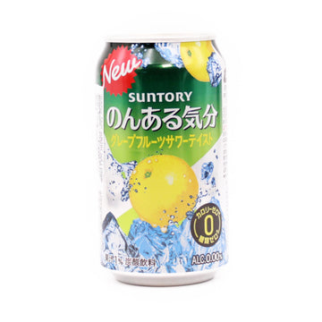 Grape Fruits Non Alc Kibun 350Ml Suntory