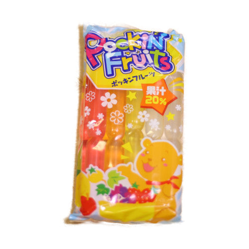 Pockin Fruits Ice Pop Bar 600Ml Marugo