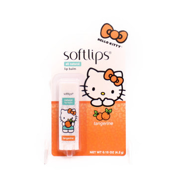 Softlips Lip Balm Hello Kitty Tangerine 0.23Oz(6