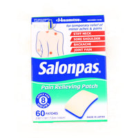 Salonpas 60Patches Nhp-060 60Sheets Hisamitsu