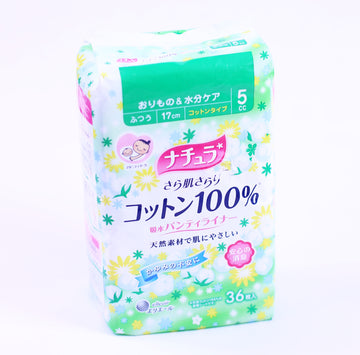Natura Pantyliner Smooth Skin Ultra Light Cotton