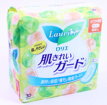 Laurier Sanitary Napkin Speed+ Soft Mesh No Wing