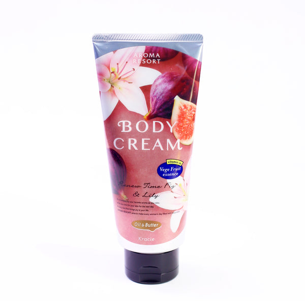 Aroma Resort Body Cream Renew Time Fig&Lily 6.0O