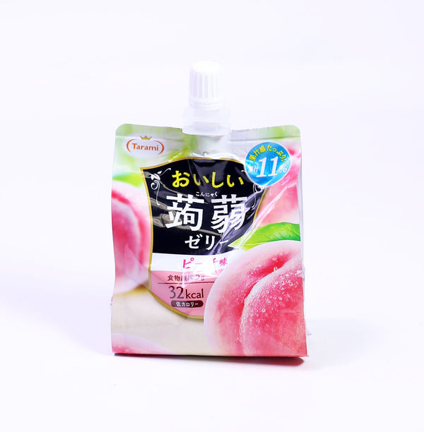 Soft Jelly Drink Peach 150G