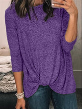Load image into Gallery viewer, Autumn Casual Basic Daily Cotton Long Sleeve Top