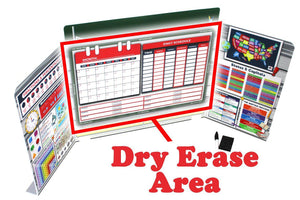 Dry Erase Schedule and Login Manager
