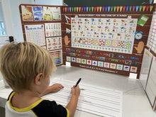Load image into Gallery viewer, Lined Whiteboard for Children to Practice Writing