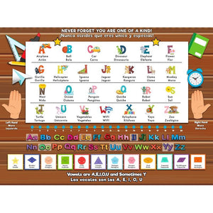 Home learning ESL resources - Alphabet and Shapes
