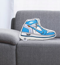 "Load image into Gallery viewer, J-1 ""AIR"" Sneaker Pillow Blue"