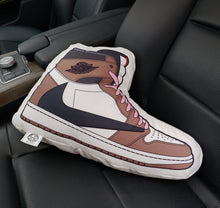 Load image into Gallery viewer, J-1 Mocha Sneaker Pillow