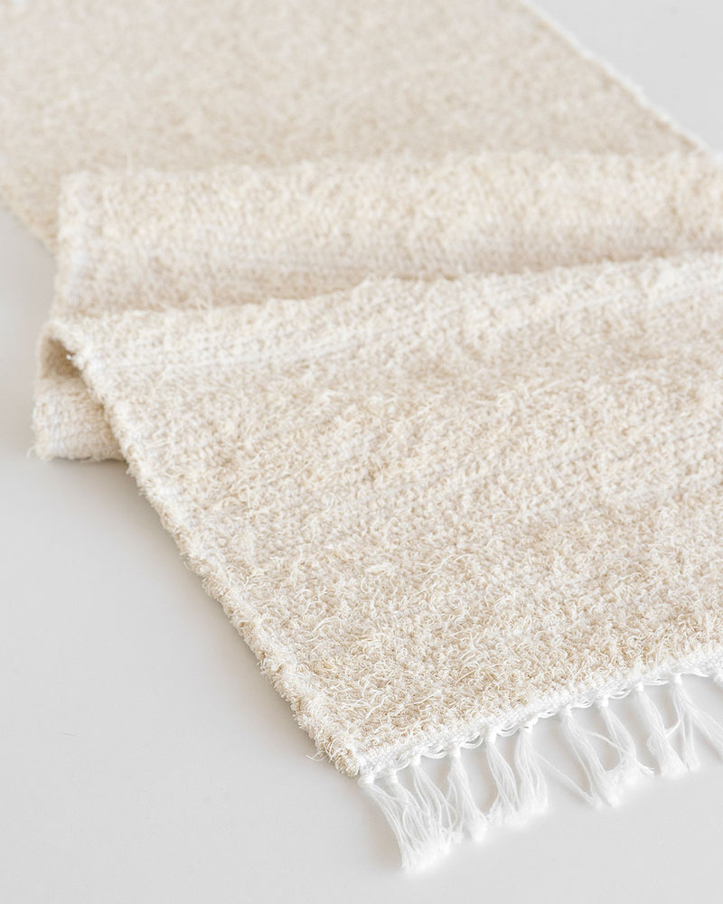 Thick Weave Table Runner - Natural