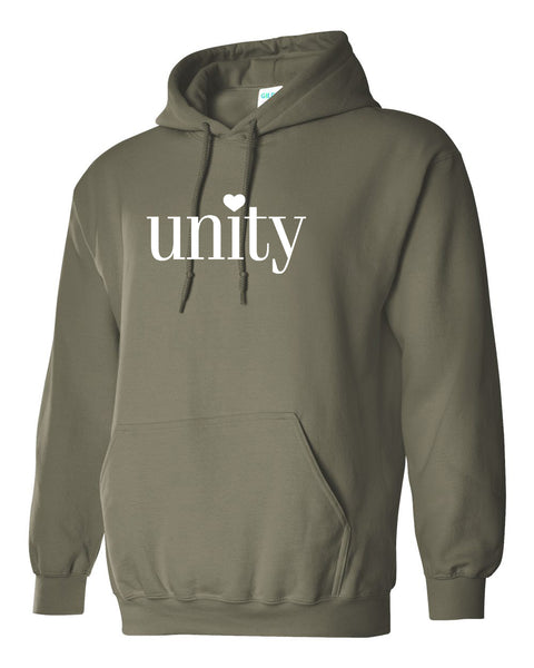 UNITY Hooded Sweatshirt - One Color - Pick your FAVORITE!