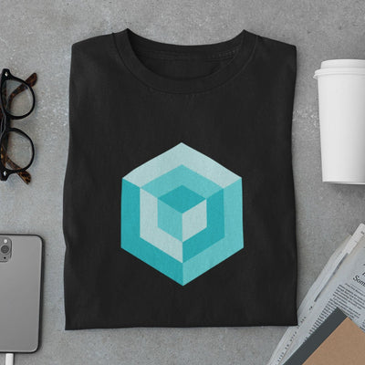 Cube Shapes Men's T-Shirt