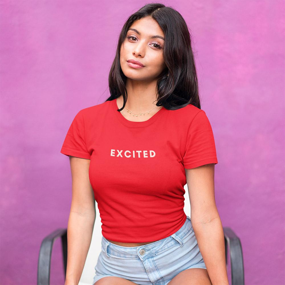 Excited Mood Crop Top