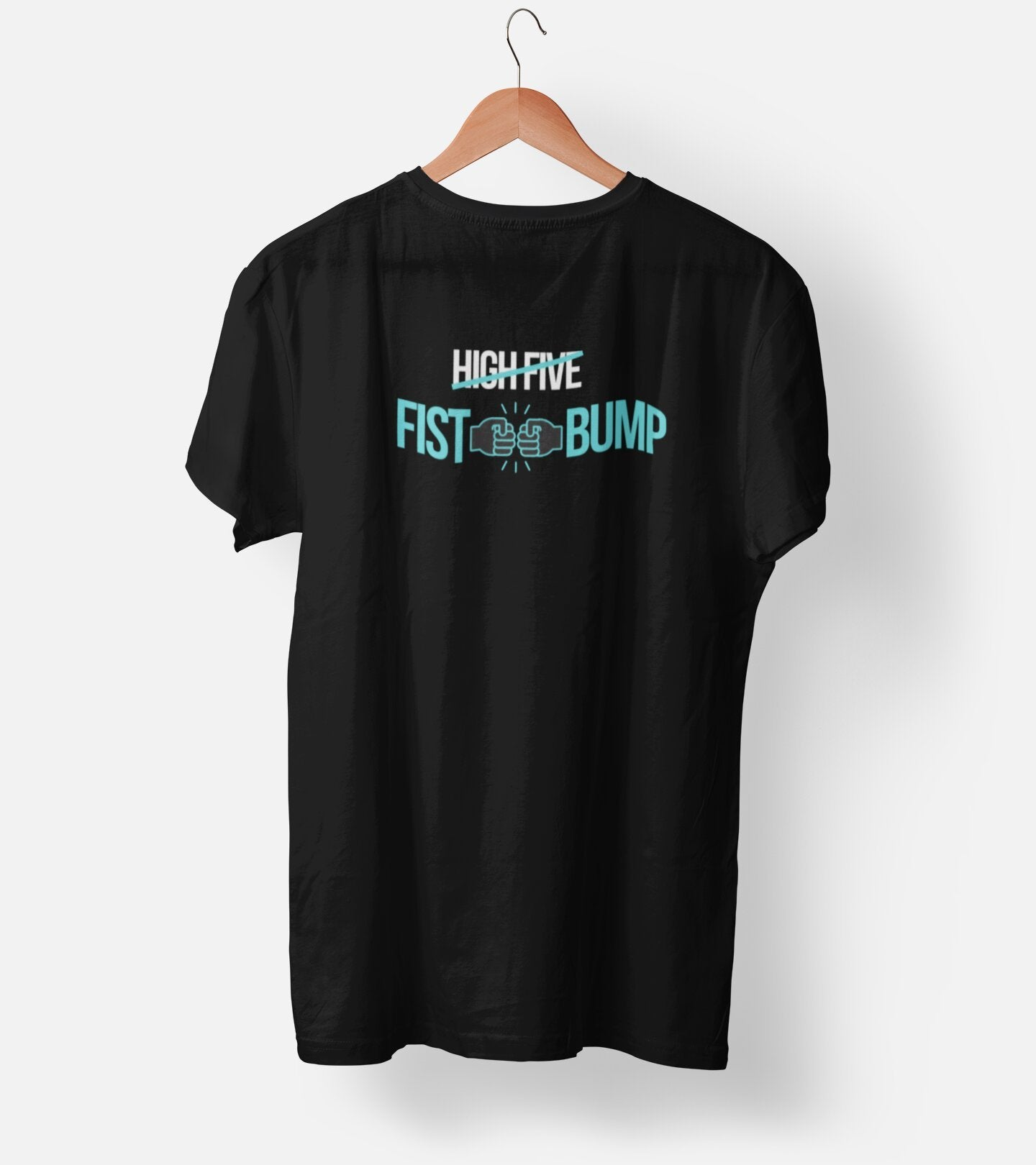 Fist Bump Cricket Fan Men's T-Shirt - Dekh.com