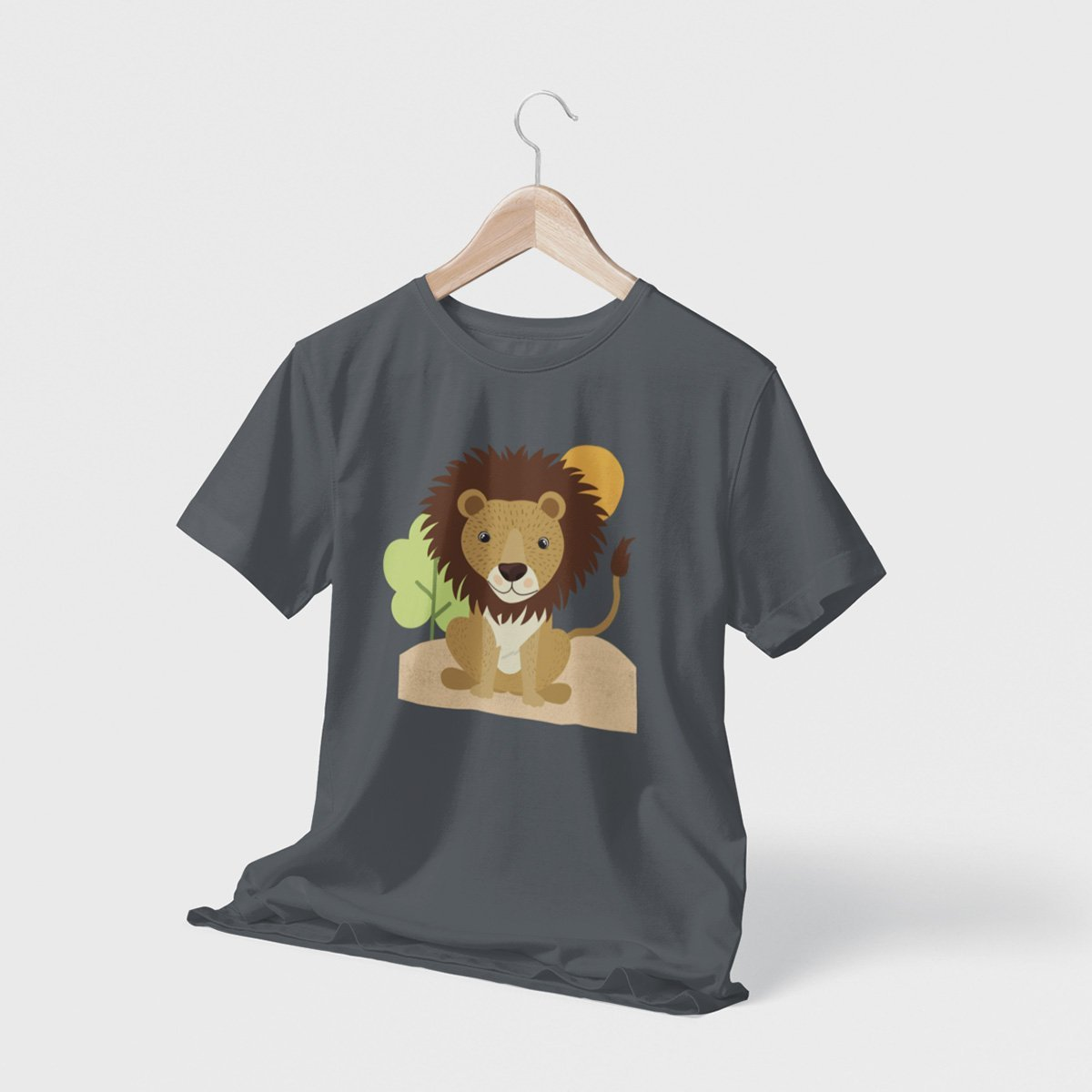 Lion Spirit Animal Men's T-Shirt - Dekh.com