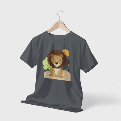 Lion Spirit Animal Men's T-Shirt