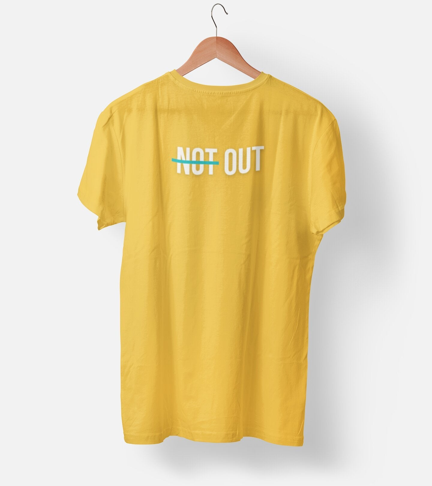 Not Out Cricket Fan Men's T-Shirt - Dekh.com