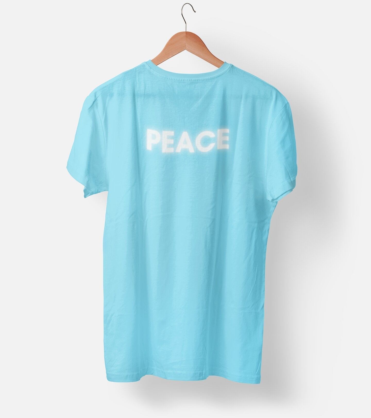 Peace Cool Blue Men's T-Shirt