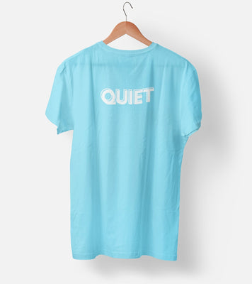 Quiet Cool Blue Men's T-Shirt
