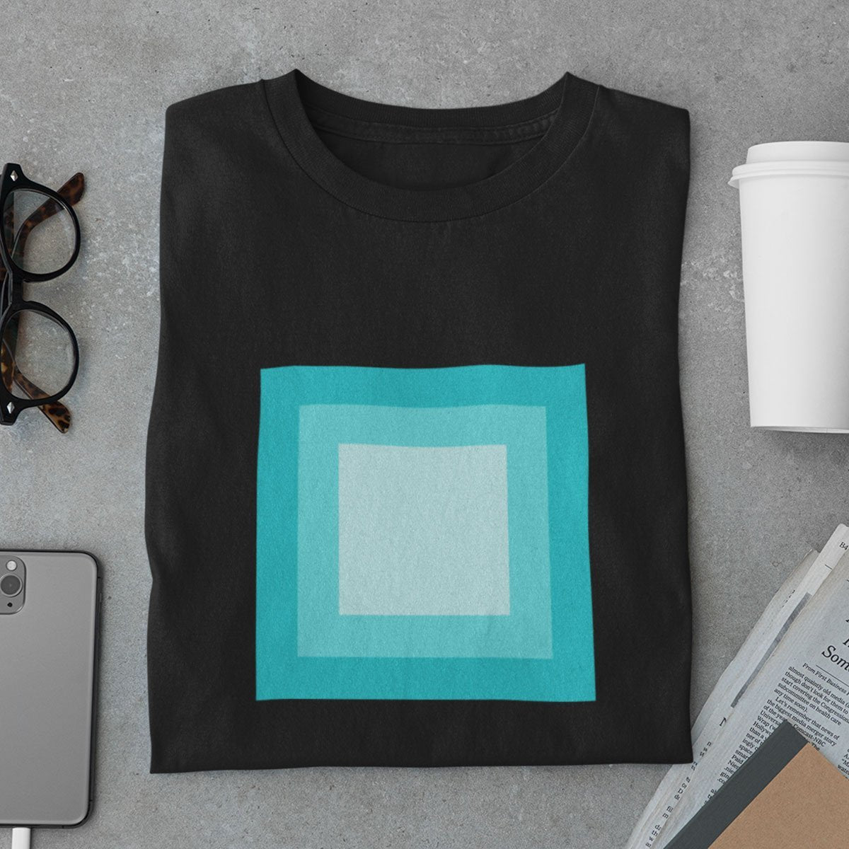 Square Shapes Men's T-Shirt