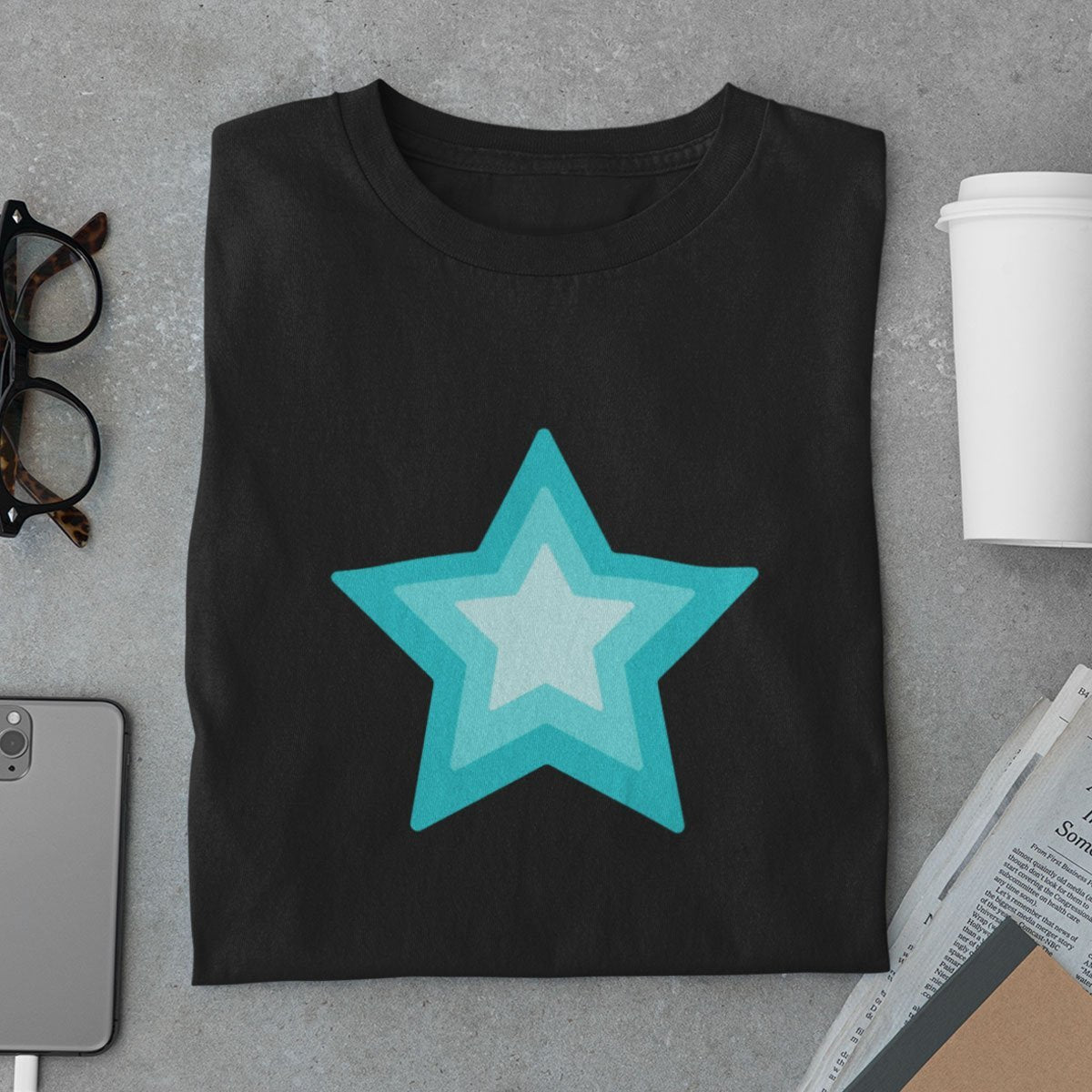 Star Shapes Men's T-Shirt