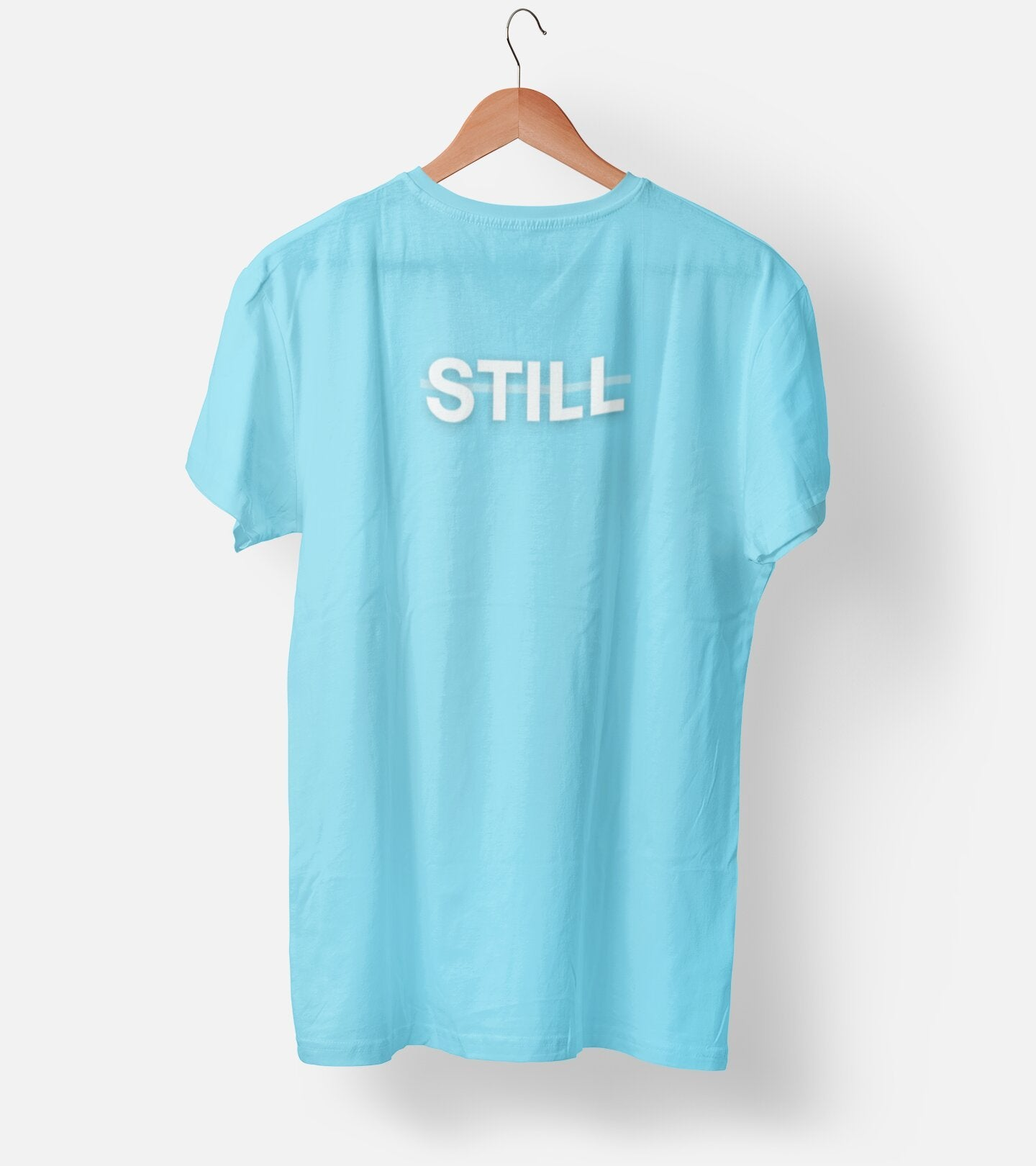 Still Cool Blue Men's T-Shirt