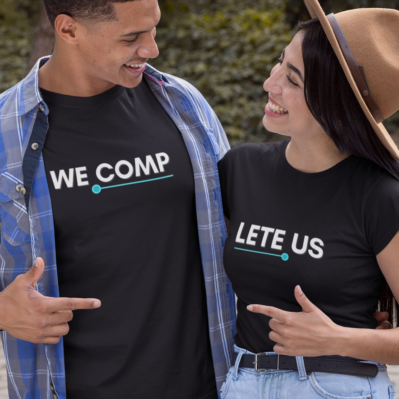 We Complete Us Couple T-Shirts