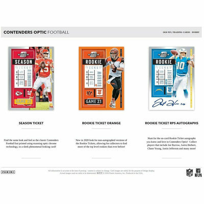 2020 Panini Contenders Optic Football Hobby Box PreOrder 04/16