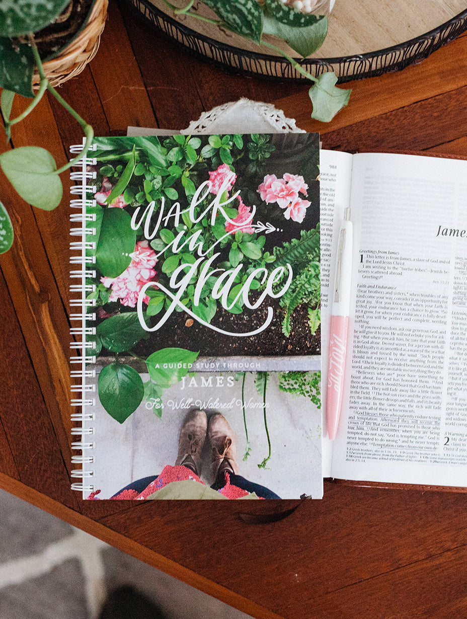 Walk in Grace James Journal