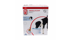 ABBEVERATOIO FONTANA PER CANI E GATTI DOGIT FRESH & CLEAR WIDE 91400 - Pet Shop Luna SRL