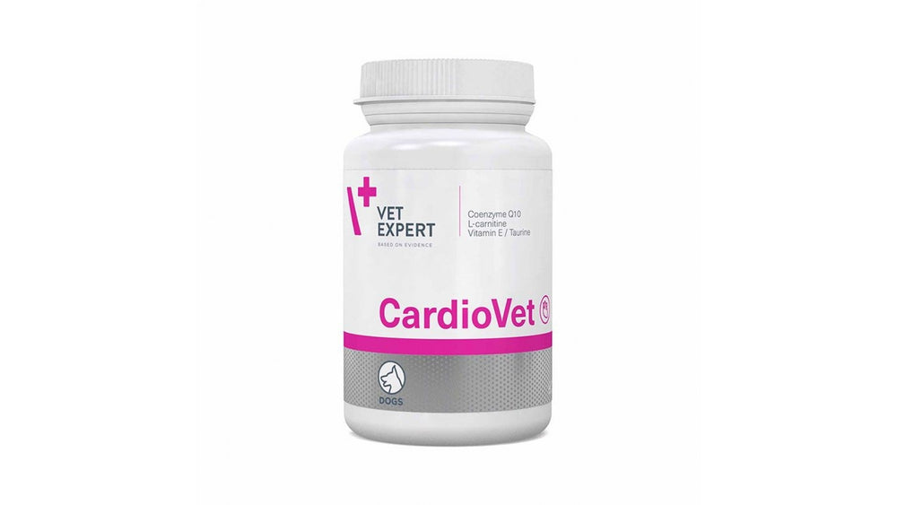 Cardiovet 770 mg, 90 tablets The product is recommended in the treatment of dogs suffering from cardiomyopathy, caused by both dilated cardiomyopathy and mitral regurgitation. - Pet Shop Luna SRL