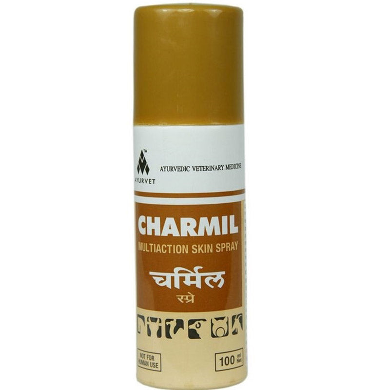 Charmil Spray 100ml Antiinflammatory, Antimicrobial, External antiparasitic, Cystrizant Cattle, Horses, Sheep, Goats, Felid, Sheep, Rodents, Suine - Pet Shop Luna SRL