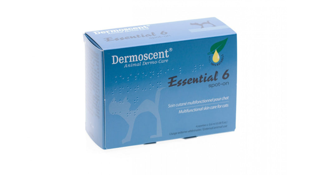 Dermoscent Essential 6 Spot-on CAT Hypoallergenic and fragrance-free, Dermoscent Essential 6 is made from 100% natural ingredients. - Pet Shop Luna SRL