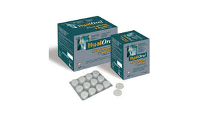 HYALORAL 120 tbl - Nutritional supplement for dogs of large and very large breeds. - Pet Shop Luna SRL